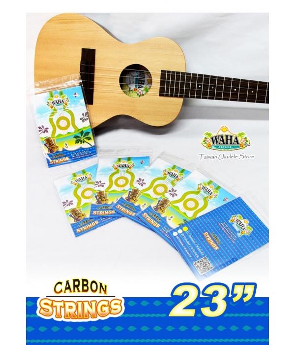 【台灣烏克麗麗 專門店】 哇哈WAHA 23吋 碳纖維透明弦 烏克麗麗專用琴弦