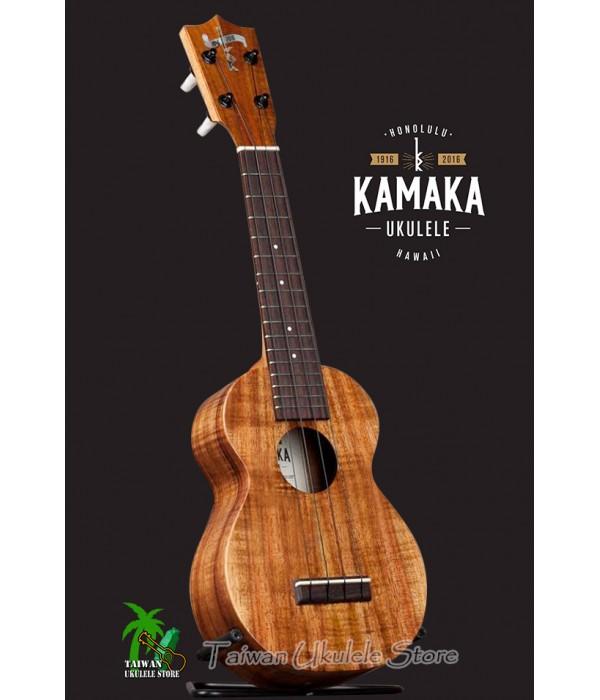 【台灣烏克麗麗 專門店】 KAMAKA Ukulele「100週年」紀念款 HF-1 夏威夷手工琴(預購專區)