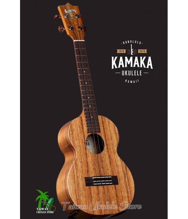 【台灣烏克麗麗 專門店】 KAMAKA Ukulele「100週年」紀念款 HF-3 夏威夷手工琴 含Fishman原廠拾音器(預購專區)
