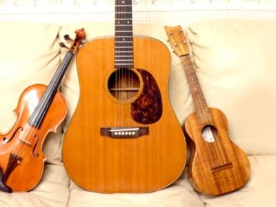 「A大調」烏克麗麗「7個」常用和弦