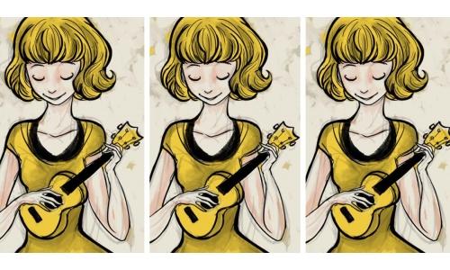 烏克麗麗「天下的媽媽都是一樣的」彈唱教學!