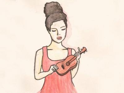 烏克麗麗「低音、高音」綜合練習02. Bossa - Part.5