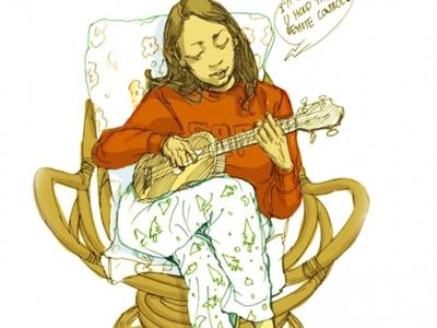 烏克麗麗「切分拍」節奏樂句 - BOSSA Part.8