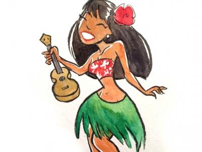 烏克麗麗「夏威夷草裙舞風」刷法教學Part.3